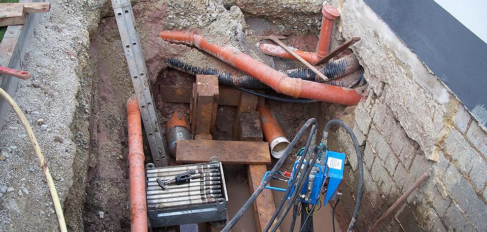 Kabelbau-Leitungsbau